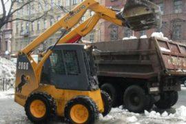 С «АБ-НЕРУД» вывоз снега – не проблема!