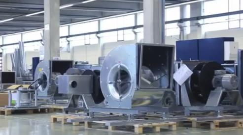 Системы промышленного вентилирования