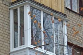 Остекление балконов в «хрущевках»