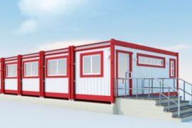 Блок-контейнеры – каркасные модули из металла