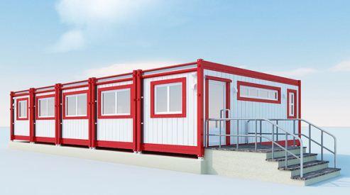 Блок-контейнеры — каркасные модули из металла