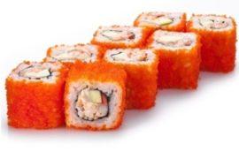Популярность доставки суши