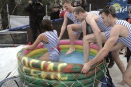 Фестиваль боевых саней прошёл в Москве