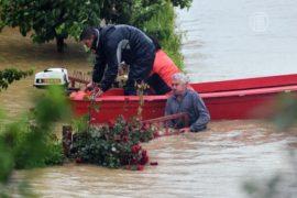 Проливные дожди затопили Сербию