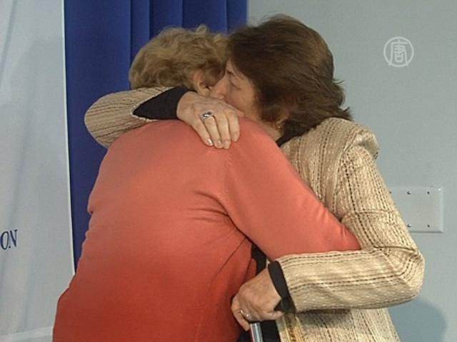 Спасительница и спасённая встретились через 69 лет