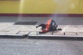 19-летняя девушка совершила самосожжение в Тибете