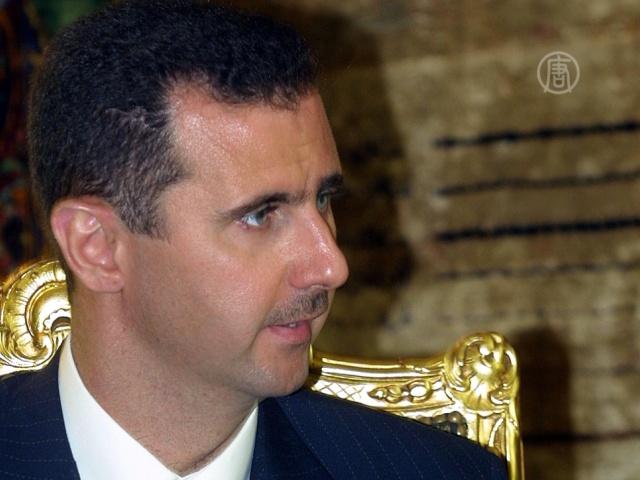 Асад обвинил Запад в поддержке «Аль-Каиды»