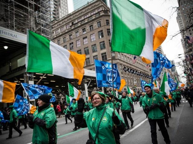 Нью-Йорк празднует День Святого Патрика