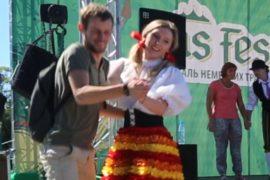 В Москве танцуют баварскую польку