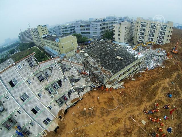 Очевидцы рассказали про оползень в Шэньчжэне