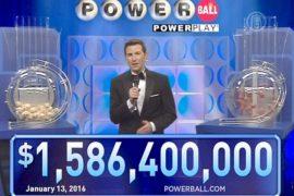 В США выигрыш в 1,5 млрд долларов разделят трое