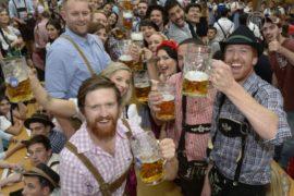 В Мюнхене полным ходом идёт «Октоберфест»