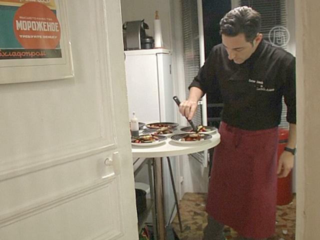 Шеф-повара колдуют на кухнях своих клиентов