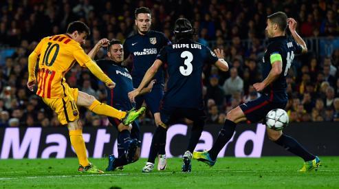 «Барселона» с трудом вырвала победу у «Атлетико». Обзор футбольного матча «Барселона» — «Атлетико»
