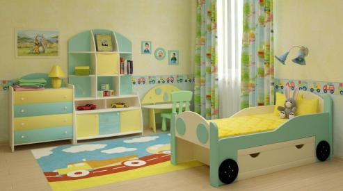 Оригинальные кровати в детскую