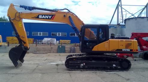 Экскаватор SANY – это качество и надежность