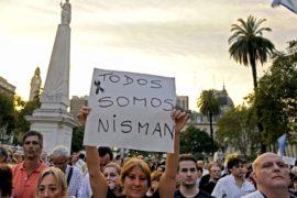 Смерть прокурора вызвала шок у аргентинцев
