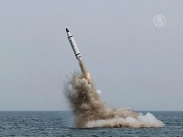 Южная Корея осудила запуск подводной ракеты в КНДР