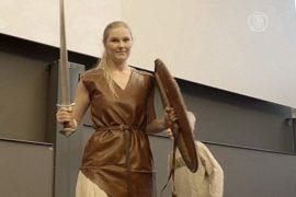 Моду викингов показали в Копенгагене